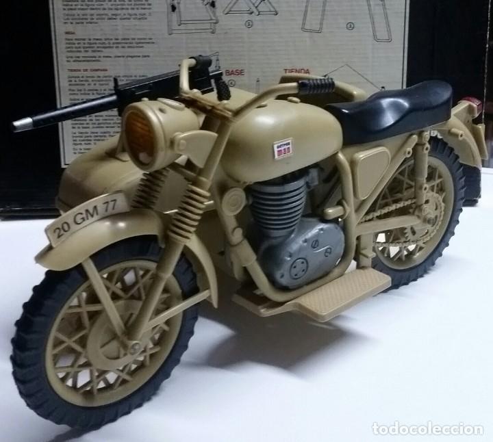 GEYPERMAN MOTO DESIERTO ALEMAN ORIGINAL (Juguetes - Figuras de Acción - Geyperman)