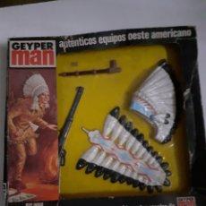 Geyperman: GEYPERMAN BLISTER JEFE INDIO ACCESORIOS. Lote 177058928