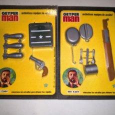 Geyperman: LOTE 2 ACCESORIOS GEYPERMAN. Lote 177872082