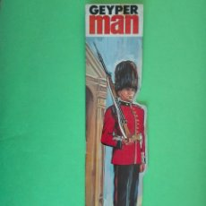 Geyperman: GEYPERMAN CARÁTULA GRANADERO. Lote 181479925