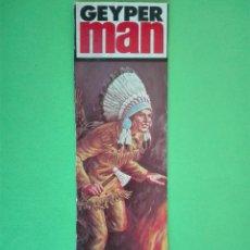 Geyperman: GEYPERMAN CARÁTULA JEFE INDIO.. Lote 181480501