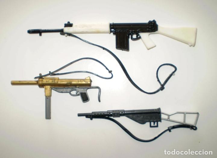 GEYPERMAN - LOTE DE ARMAS - ORIGINAL NO REEDICIÓN (Juguetes - Figuras de Acción - Geyperman)