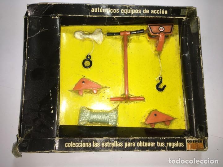 DESLIZADOR ESCAPE TIROLINA DE GEYPERMAN (Juguetes - Figuras de Acción - Geyperman)