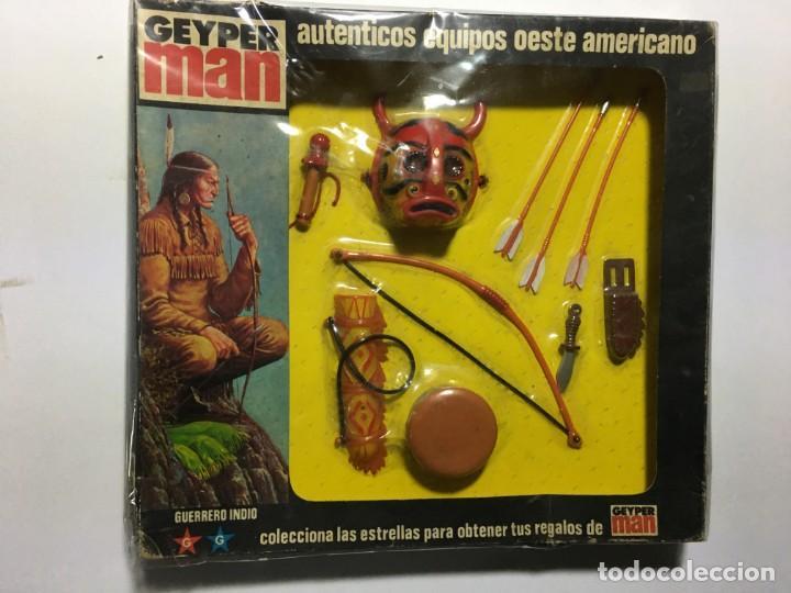 GEYPERMAN GUERRERO INDIO (Juguetes - Figuras de Acción - Geyperman)