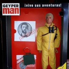 Geyperman: GEYPERMAN.MISION IMPOSIBLE.1 GENERACION.RUBIO.RIGIDO.MUY BUEN ESTADO. REGALO CAJA REEDICION. GEYPER. Lote 190908063