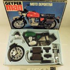 Geyperman: GEYPERMAN MOTO DEPORTIVA (VERDE) SIN ABRIR. ORIGINAL. Lote 192169030