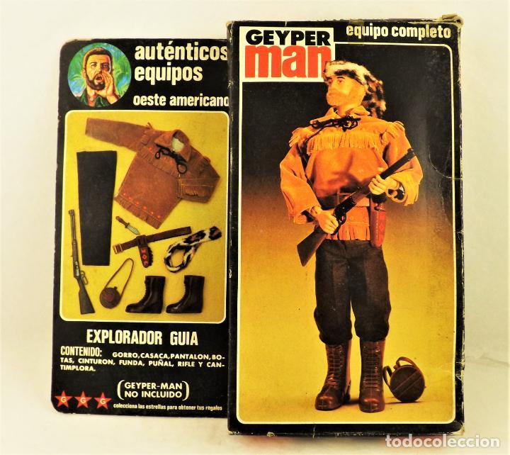 GEYPERMAN EXPLORADOR GUÍA. COMPLETO REF 7505 (Juguetes - Figuras de Acción - Geyperman)