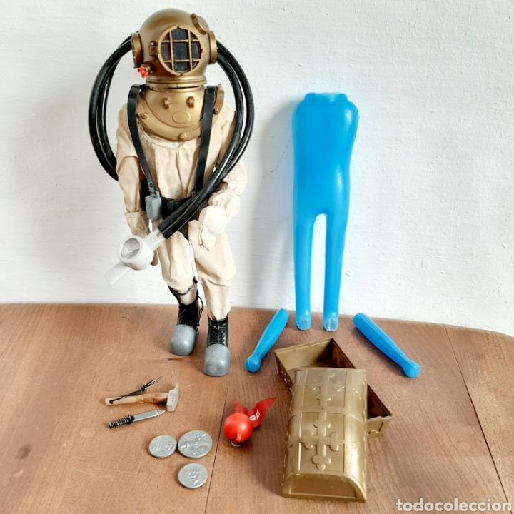 TRAJE GEYPERMAN BUZO ORIGINAL CON MANIQUI + GEYPER MAN NEGRO O DE COLOR + COMPLENTOS (Juguetes - Figuras de Acción - Geyperman)