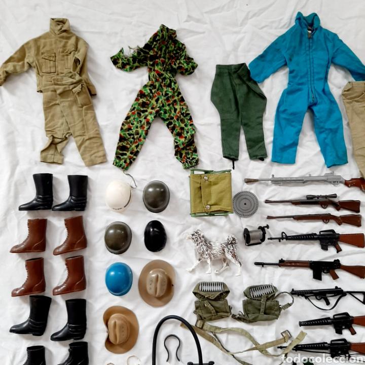 Geyperman: Gran Lote Geyperman original / Geyper Man / Accesorios Vestidos Armas Ropa Complementos - Foto 2 - 192263078