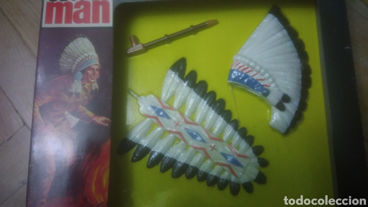 Geyperman: GEYPERMAN. OESTE. BLISTER A ESTRENAR. CAJA PERFECTA C 10. ACCESORIOS PLUMA, PENACHO, PIPA Y WINCHEST - Foto 6 - 194252905