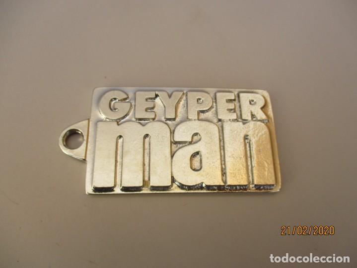 LLAVERO GEYPERMAN NO ORIGINAL HECHO EN ZAMAK (Juguetes - Figuras de Acción - Geyperman)