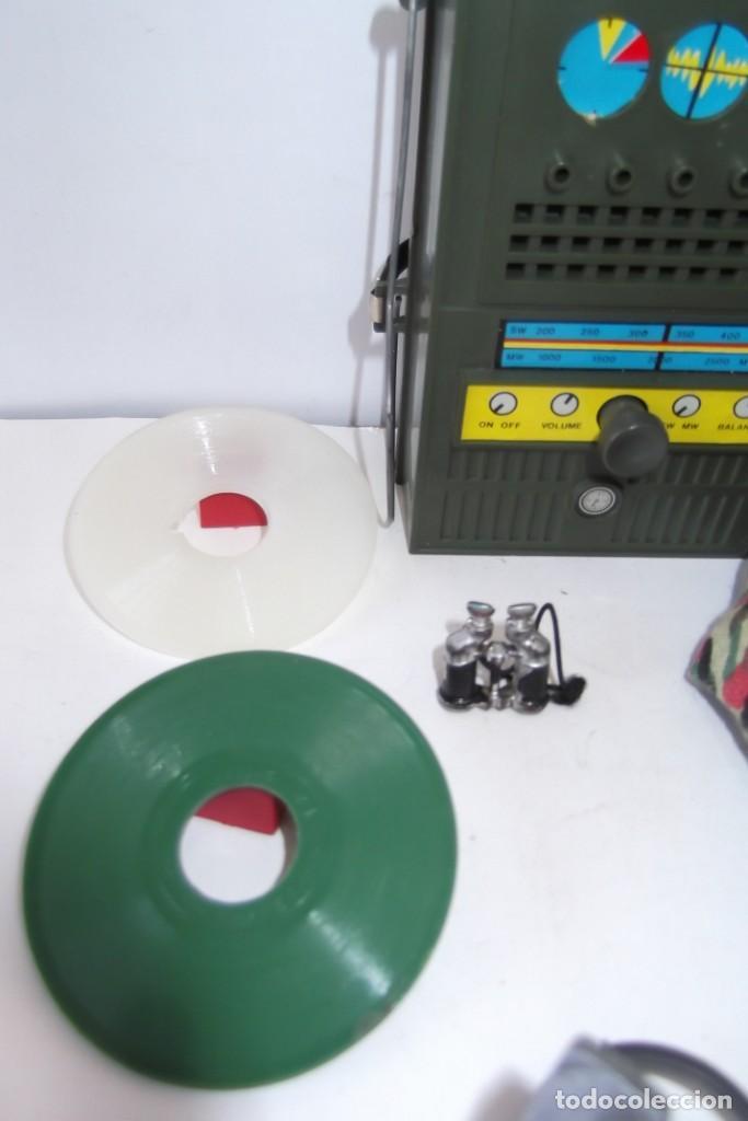 Geyperman: - GEYPER MAN - RADIO CAMPAÑA , 2 DISCOS - AURICULARES - PRISMATICOS - CAMISA Y PIEL CAMUFLAGE- 1975 - Foto 3 - 194771120