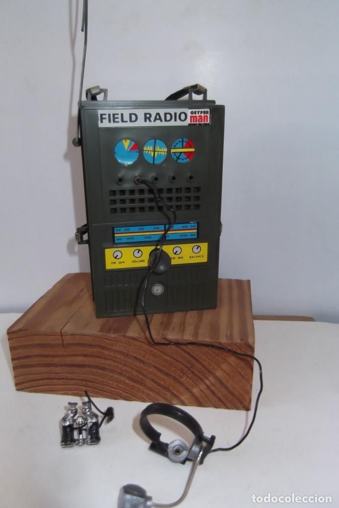 Geyperman: - GEYPER MAN - RADIO CAMPAÑA , 2 DISCOS - AURICULARES - PRISMATICOS - CAMISA Y PIEL CAMUFLAGE- 1975 - Foto 15 - 194771120