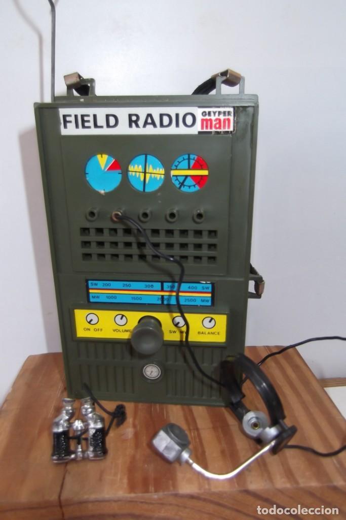 Geyperman: - GEYPER MAN - RADIO CAMPAÑA , 2 DISCOS - AURICULARES - PRISMATICOS - CAMISA Y PIEL CAMUFLAGE- 1975 - Foto 19 - 194771120