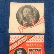 Geyperman: FOLLETO CATALOGO DE PUNTOS ESTRELLA DE GEYPERMAN.. Lote 194995495