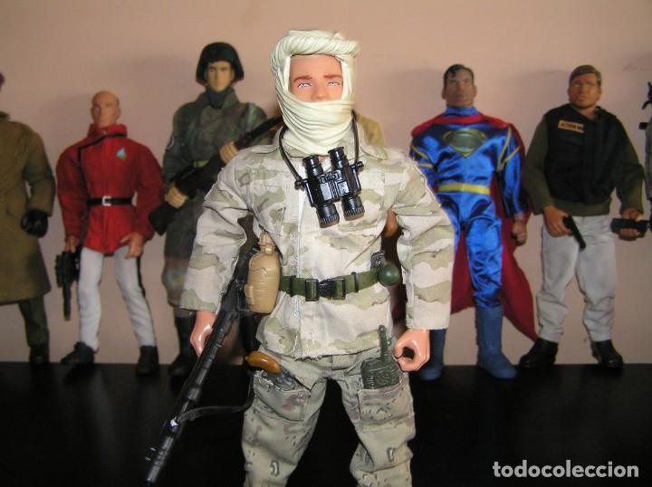 Geyperman: GEYPERMAN, ACTION MAN, DRAGÓN. PALITOY Soldado Guera del Golfo. Irak. MDE ESCALA 1/6. - Foto 2 - 198882916