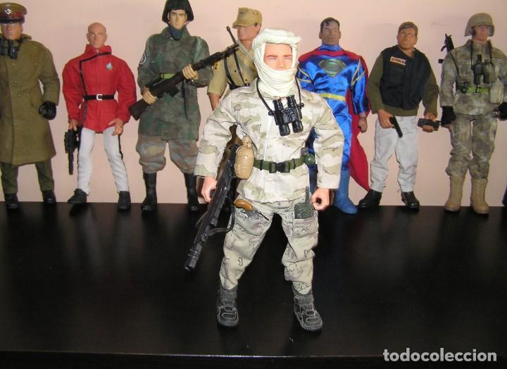 Geyperman: GEYPERMAN, ACTION MAN, DRAGÓN. PALITOY Soldado Guera del Golfo. Irak. MDE ESCALA 1/6. - Foto 3 - 198882916