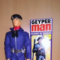 Geyperman: GEYPERMAN REEDICION - SOLDADO DE TANQUES + CAJA INDIVIDUAL. Lote 198956462