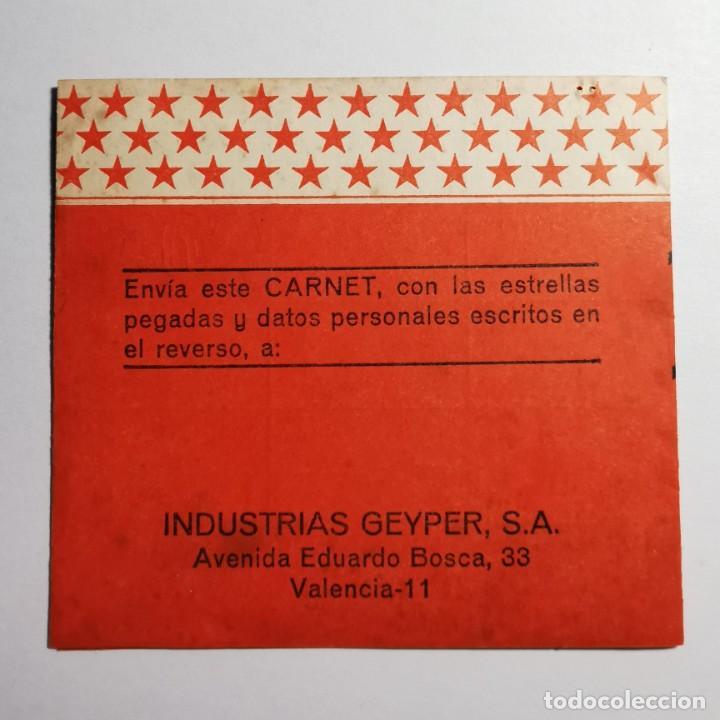 Geyperman: ANTIGUO DOCUMENTO GEYPERMAN - ¡GRATIS! PARA TI, UN GEYPER MAN - VALENCIA - JUGUETES ESPAÑOLES - Foto 6 - 200007318