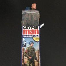 Geyperman: GEYPERMAN SOLDAD DE LA PAZ - CASCO AZUL - FIGURA REEDICION AÑO 2013 - NUEVO SIN ABRIR - GEYPER. Lote 201233427