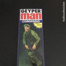 Geyperman: GEYPERMAN COMANDO SOLDADO REF. 7017 - FIGURA REEDICION AÑO 2013 - NUEVO SIN ABRIR - GEYPER. Lote 201233942