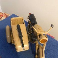 Geyperman: MOTO SIDECAR DEL DESIERTO DE GEYPERMAN.ORIGINAL.PIEZA DE COLECCIONISTA. Lote 205778380