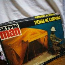 Geyperman: CAJA VACÍA GEYPERMAN- TIENDA DE CAMPAÑA, REF. 7400, 1°EPOCA, 1975.. Lote 206374256