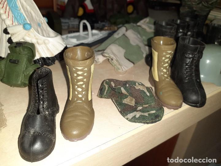 Geyperman: Lote Geyperman.2 figuras soldados y complementos varios años 70. - Foto 3 - 206523363