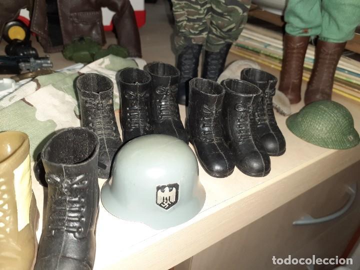 Geyperman: Lote Geyperman.2 figuras soldados y complementos varios años 70. - Foto 4 - 206523363