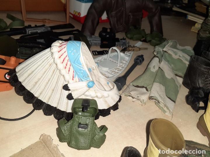 Geyperman: Lote Geyperman.2 figuras soldados y complementos varios años 70. - Foto 5 - 206523363