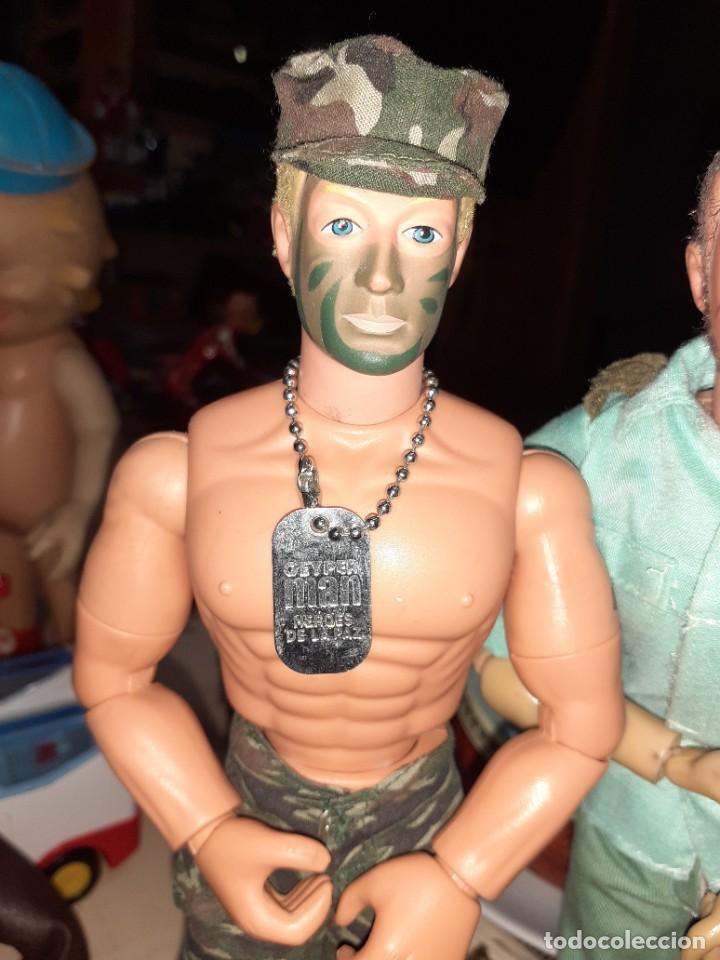 Geyperman: Lote Geyperman.2 figuras soldados y complementos varios años 70. - Foto 11 - 206523363