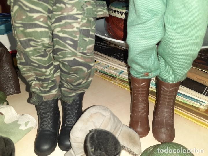 Geyperman: Lote Geyperman.2 figuras soldados y complementos varios años 70. - Foto 18 - 206523363