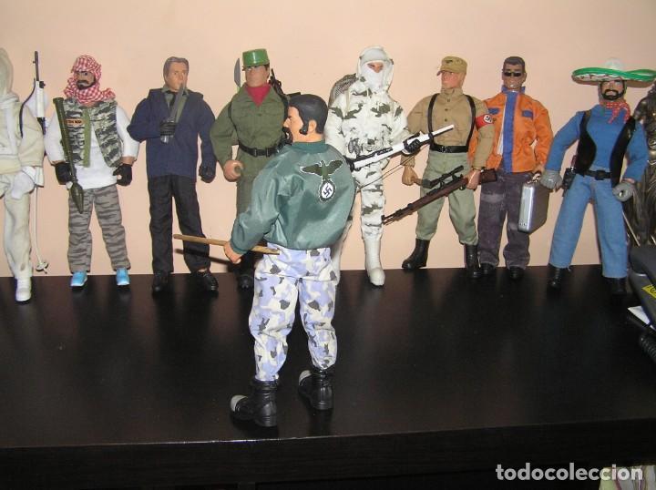 Geyperman: Geyperman, Action Man, Dragón, Escala 1/6. Skinhead. Neo nazi. Cabeza rapada. Madelman MDE - Foto 2 - 210694850