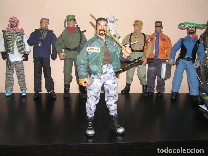 Geyperman: Geyperman, Action Man, Dragón, Escala 1/6. Skinhead. Neo nazi. Cabeza rapada. Madelman MDE - Foto 4 - 210694850