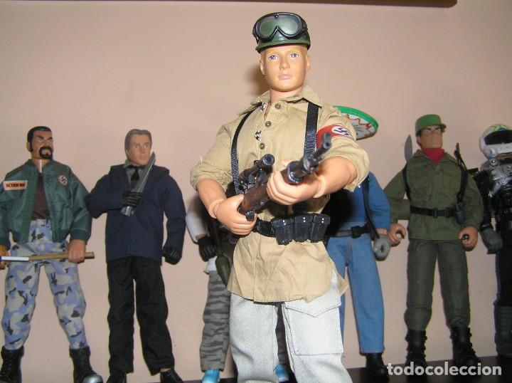 Geyperman: Geyperman, Action Man, Dragón, Escala 1/6. Soldado Alemán, Afrika Korps, WWII. Nazi. Madelman MDE - Foto 2 - 210695030