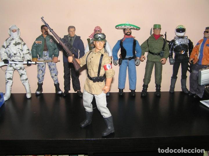 Geyperman: Geyperman, Action Man, Dragón, Escala 1/6. Soldado Alemán, Afrika Korps, WWII. Nazi. Madelman MDE - Foto 3 - 210695030
