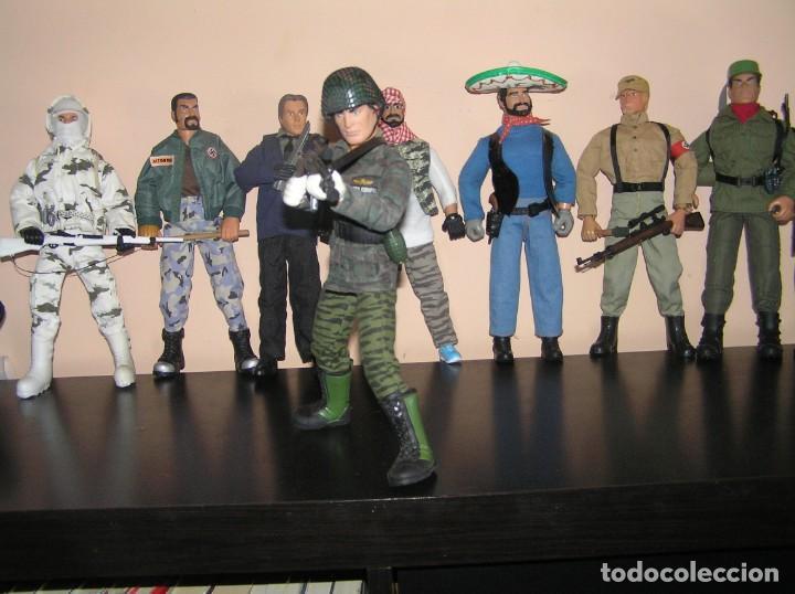 Geyperman: Geyperman, Action Man, Dragón, Escala 1/6. Militar. Soldado. Fuerzas Armadas, Madelman MDE - Foto 2 - 210695219