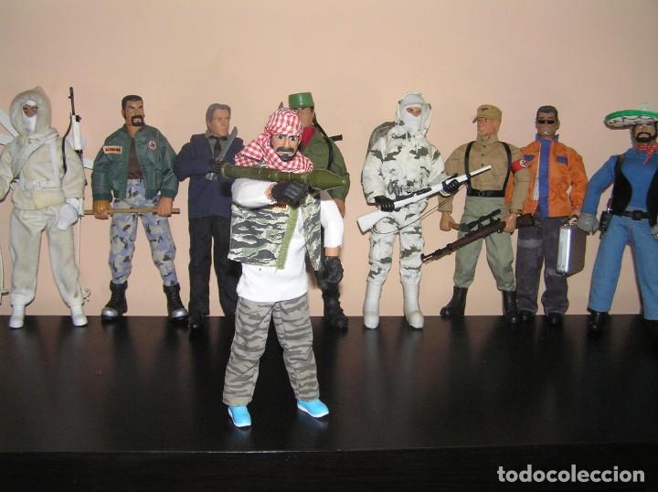 Geyperman: Geyperman, Action Man, Dragón, Escala 1/6. Terrorista taliban con bazoca. Madelman MDE - Foto 2 - 210706944