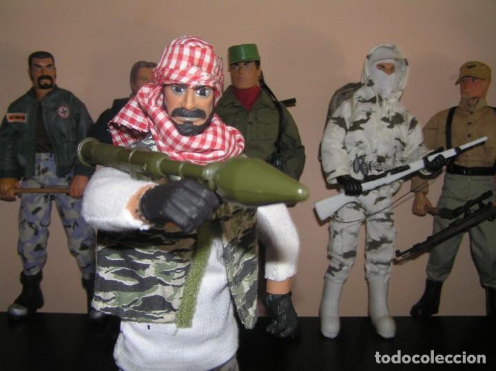 Geyperman: Geyperman, Action Man, Dragón, Escala 1/6. Terrorista taliban con bazoca. Madelman MDE - Foto 3 - 210706944