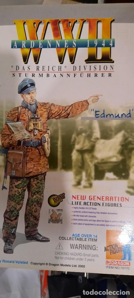 DRAGON. FIGURA 1/6. EDMUND. DASH REICH DIVISION (STURBANNFUHRER) (Juguetes - Figuras de Acción - Geyperman)