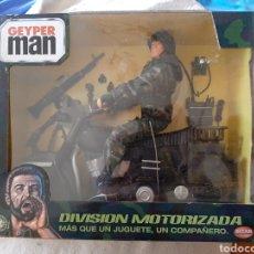Geyperman: GEYPERMAN CON MOTO DE BIZAK EN SU BLISTER. Lote 221150168