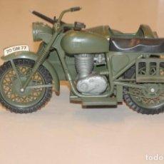 Geyperman: GEYPERMAN MOTO MILITAR CON SIDECAR. ORIGINAL. 19 FOTOS DESCRIPTIVAS.. Lote 222397887