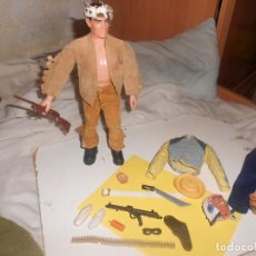 Geyperman: LOTE OESTE BIG JIM FAMOSA GEYPER MARX TOYS..FIGURA ACCIÓN, OFERTA. Lote 226344655