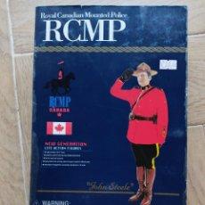 """Geyperman: DRAGON ACTION FIGURE POLICIA MONTADO DEL CANADA """"JOHN STEELE"""" 1/6. Lote 227877255"""