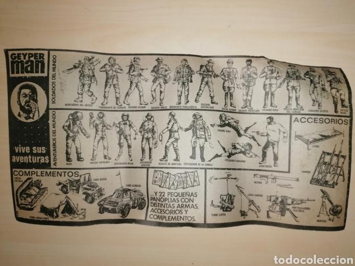 Geyperman: PANOPLIA SACO DE CAMPAÑA GEYPERMAN - Años 70 - Última unidad¡ - Foto 2 - 232004070