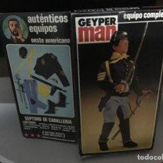 Geyperman: CAJA GEYPERMAN DEL SEPTIMO DE CABALLERIA ORIGINAL. Lote 233554125