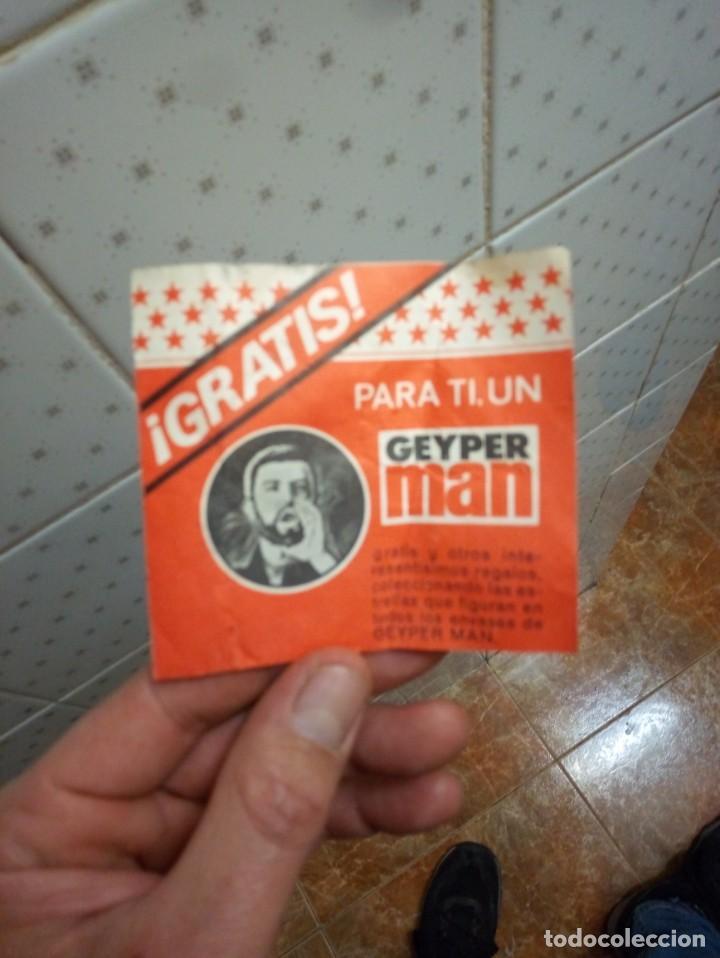 CARNET PARA CONSEGUIR REGALOS GEYPERMAN AÑOS 70 (Juguetes - Figuras de Acción - Geyperman)