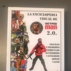 Geyperman: ENCICLOPEDIA VISUAL GEYPERMAN 2.0 Y MANIQUI REEDICION EXCLUSIVA DEL PILOTO HELICOPTERO. Lote 241881540