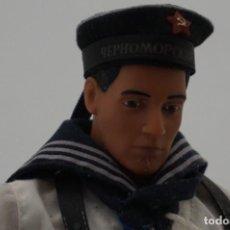 Geyperman: IMPRESIONANTE SOLDADO DE LA MARINA SOVIETICA - AÑOS 70 - TIPO GEYPERMAN - 32 CM - CON SUS ACCESORIOS. Lote 242473135