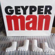 Geyperman: GEYPERMAN. BOTAS BLANCAS EXPLORADOR POLAR, TROPA POLAR. ULTIM VERSIÓN CON LA CAÑA AMPLIADA. Lote 244724235